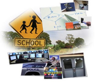 School Safety and Security Collage